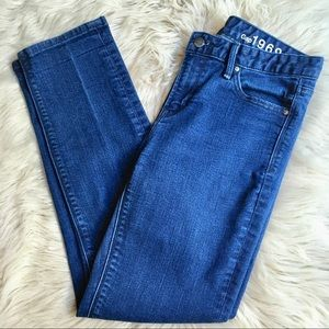 GAP 1969 real straight denim jeans size 27